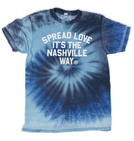 Project 615 Project 615 Tshirt- Spread Love Tie Dye
