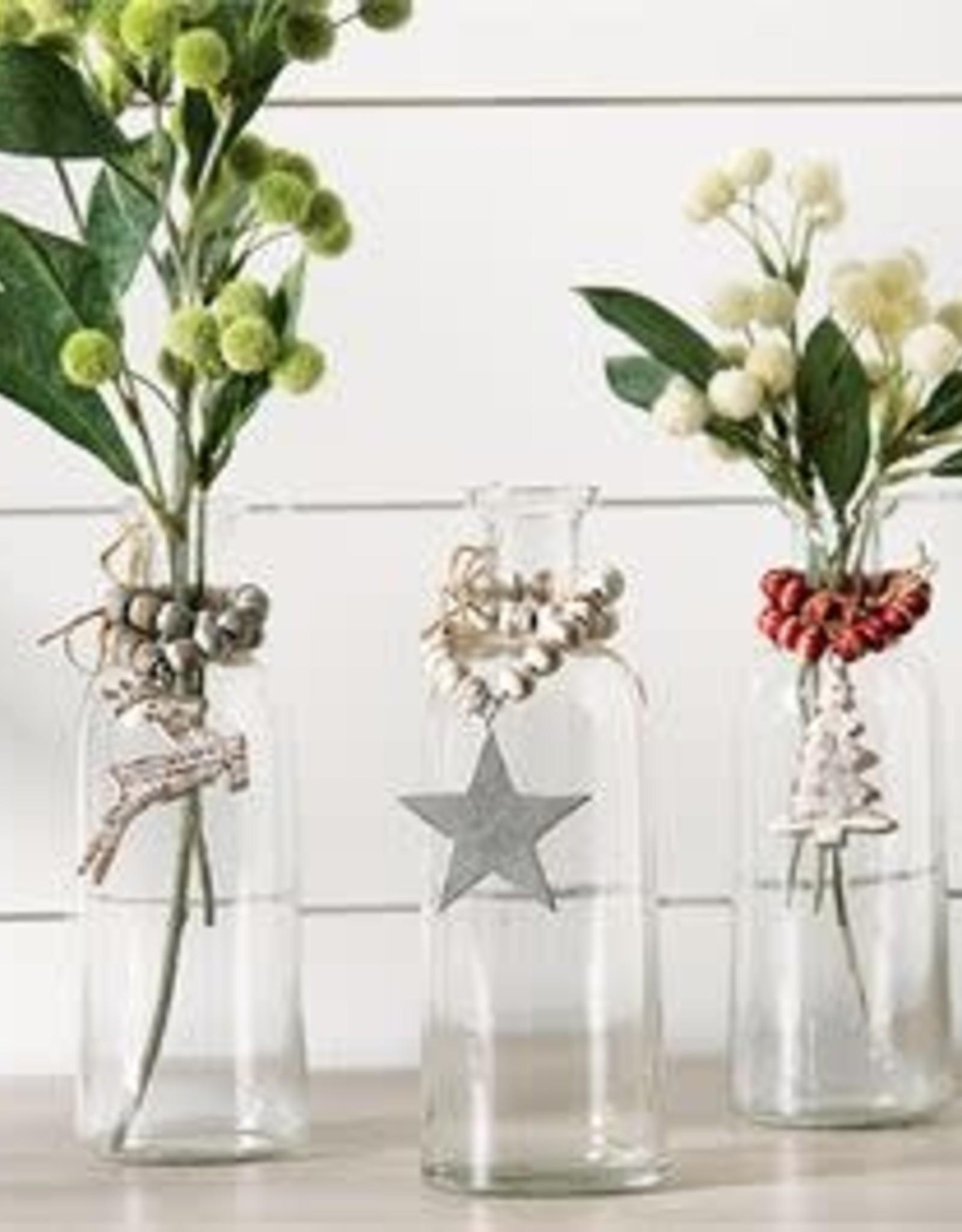 MudPie MudPie Holiday Bud Vase