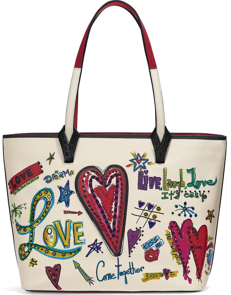 Brighton Brighton Handbag Love Scribble Tote White/Multi