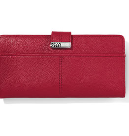 Brighton Brighton Wallet Barbados Large Pocket- Lipstick