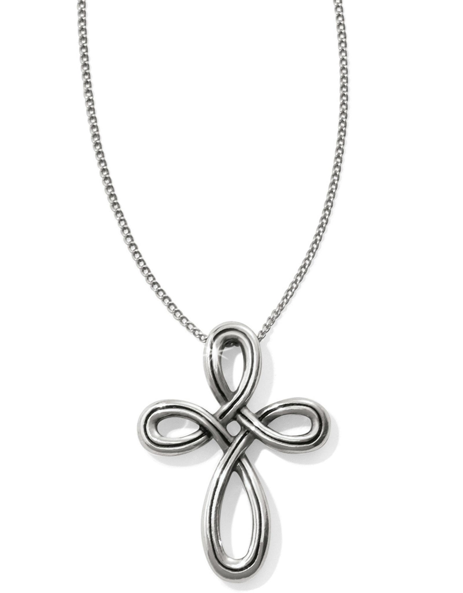 Brighton Brighton Necklace Interlok Petite Cross
