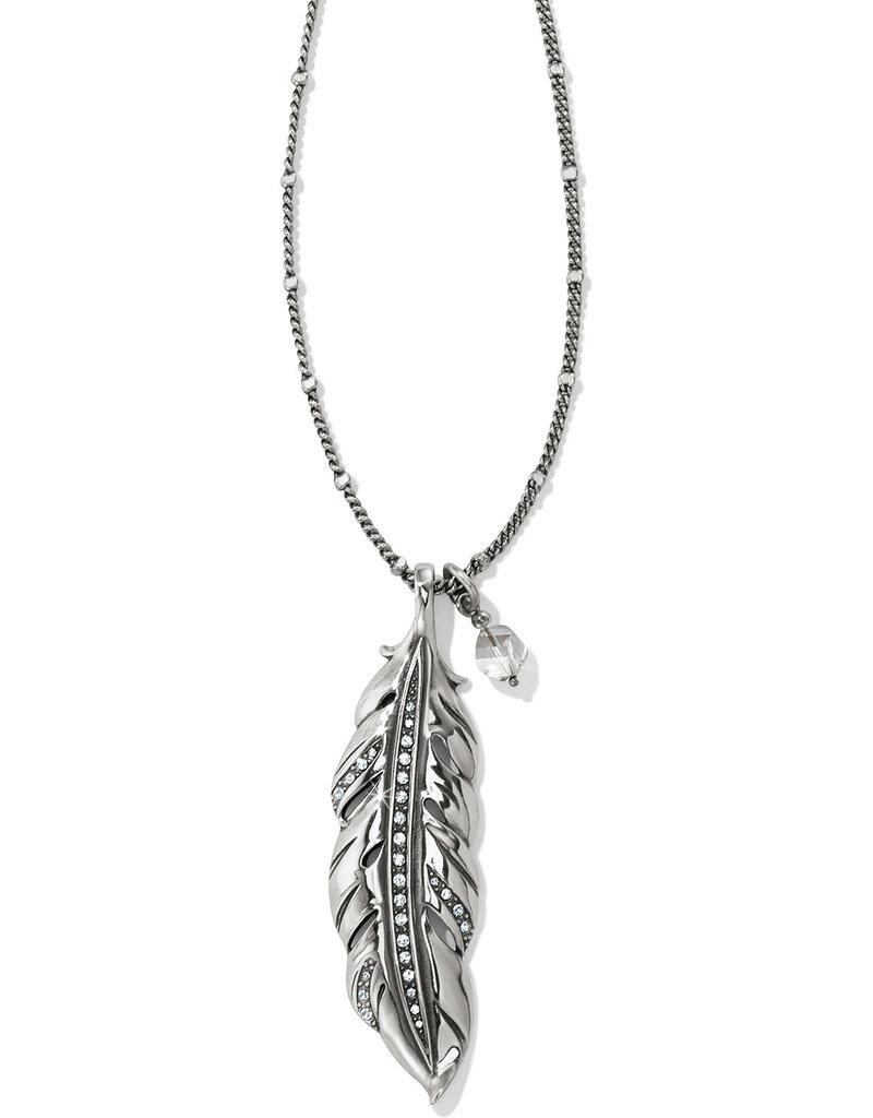 Brighton Brighton  Contempo  Ice Feather Convertible Reversible Necklace