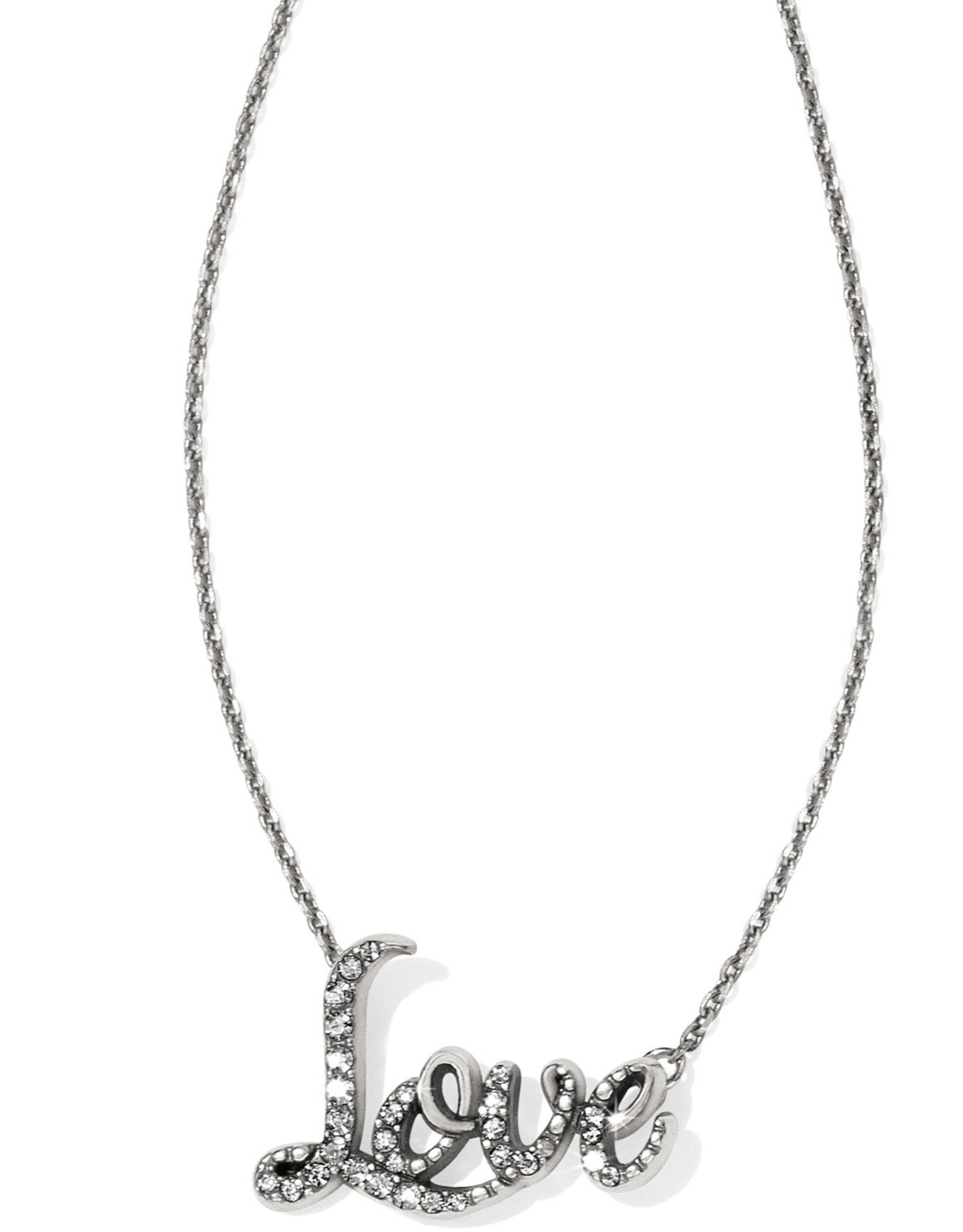 Brighton Brighton Love Script Necklace