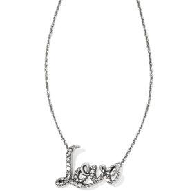 Brighton Brighton Love Script Necklace