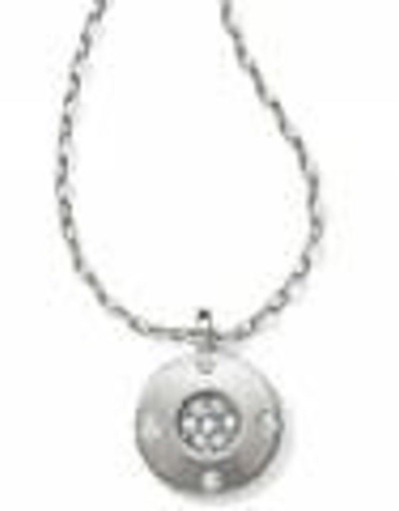 Brighton Brighton Contempo Ice Reversible Petite Round Necklace