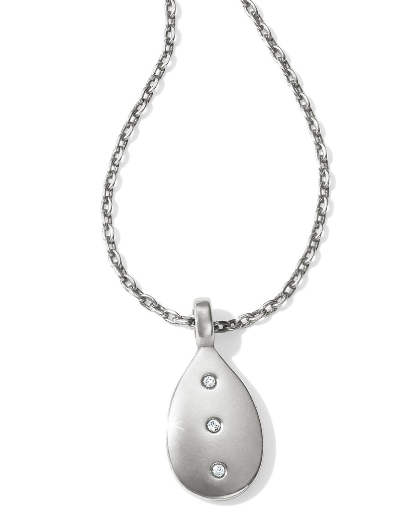 Brighton Brighton Contempo Ice Reversible Petite Teardrop Necklace