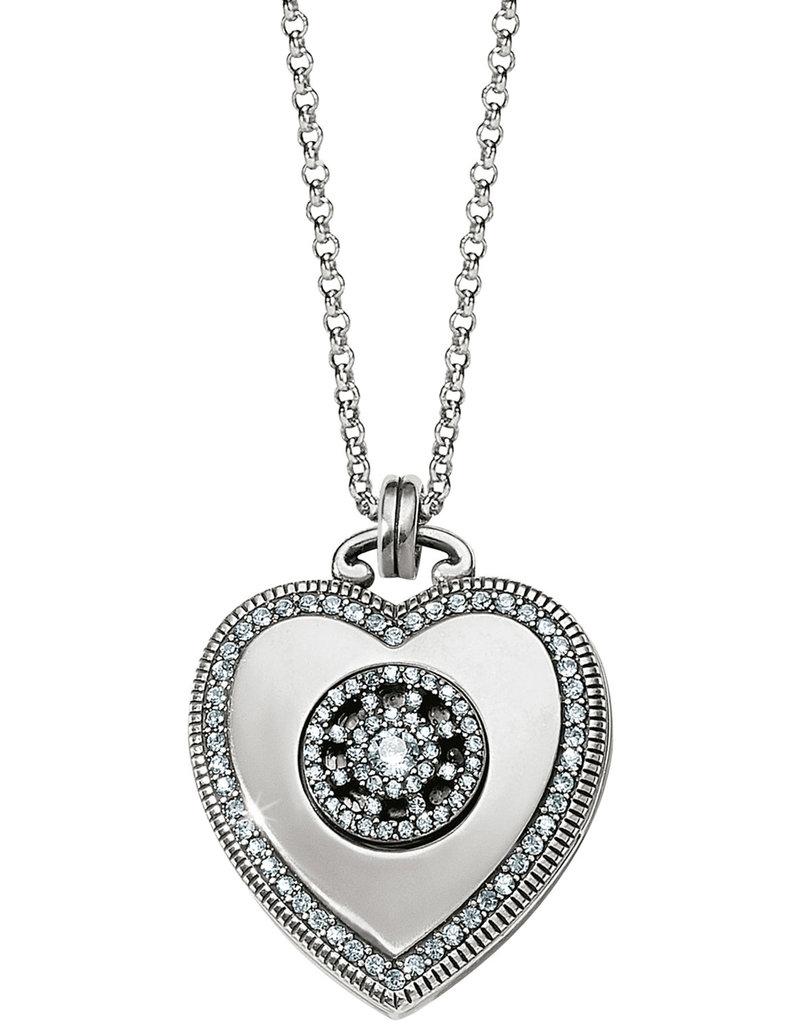 Brighton Brighton Necklace Illumina Small Heart Locket