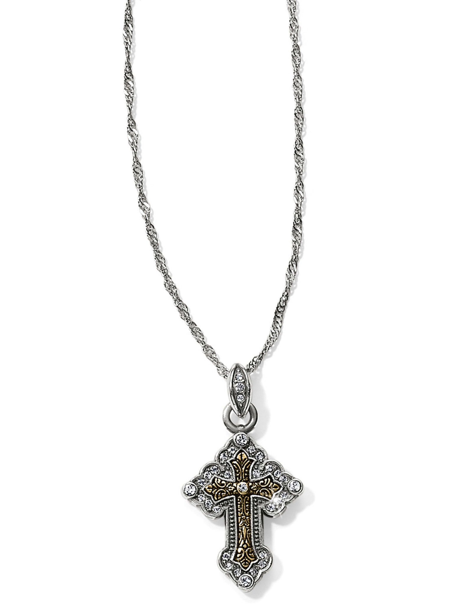 Brighton Brighton Necklace Crosses Of The World Necklace Greek Petite Cross