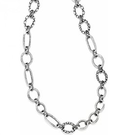 Brighton Brighton Pebble Mini Link Long Necklace Silver