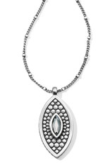 Brighton Brighton Necklace Pebble Disc Marquise