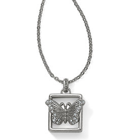 Brighton Brighton Necklace Solstice Framed Butterfly