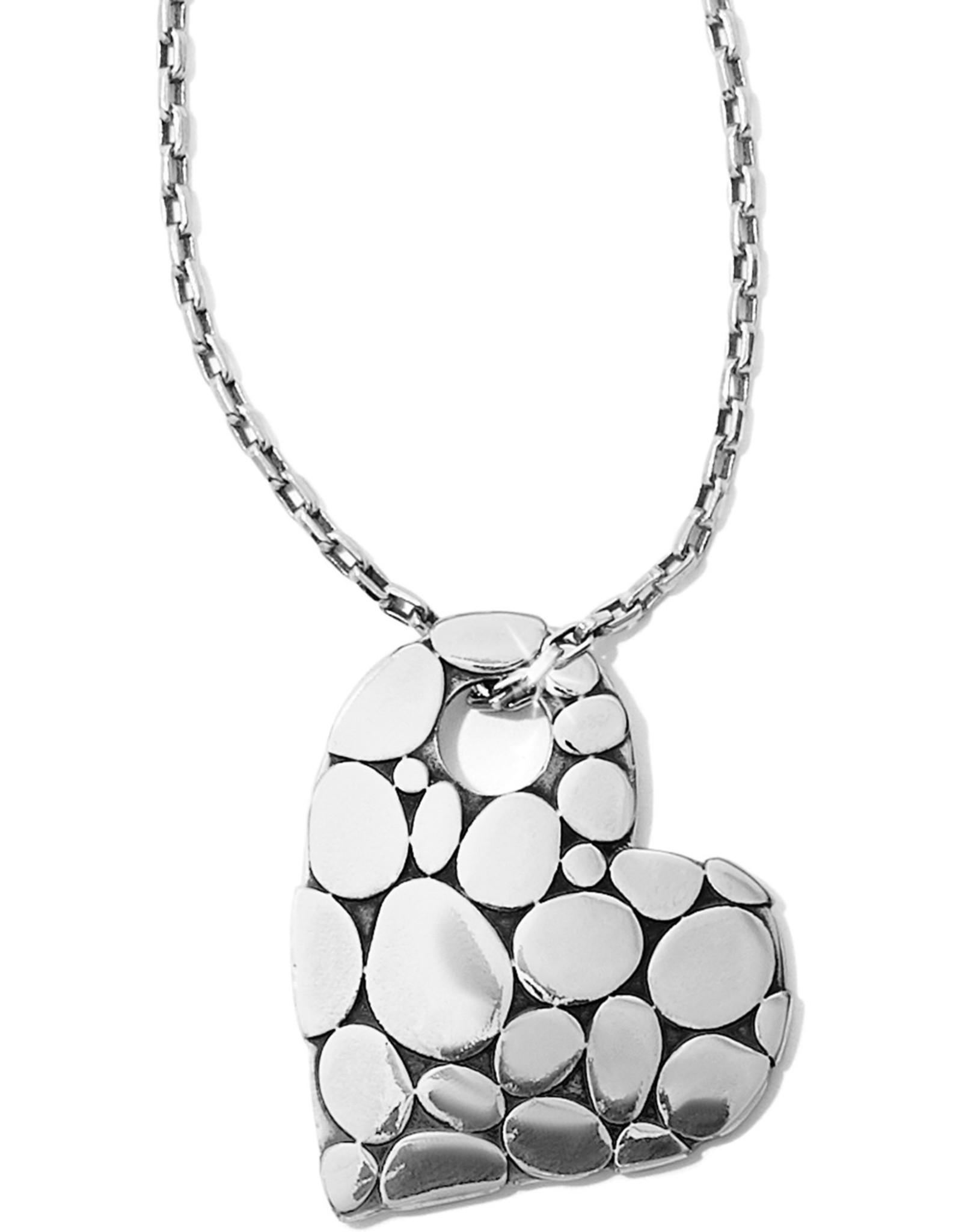 Brighton Brighton Necklace Pebble Heart