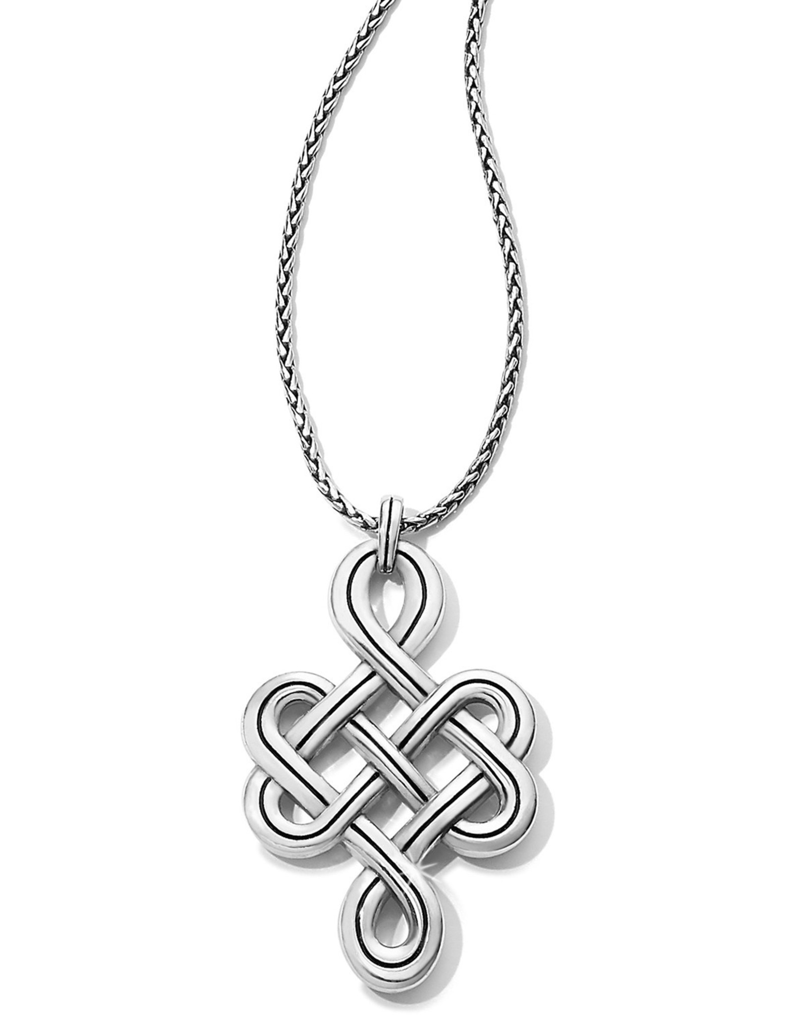 Brighton Brighton Necklace Interlok Endless Knot Convertible