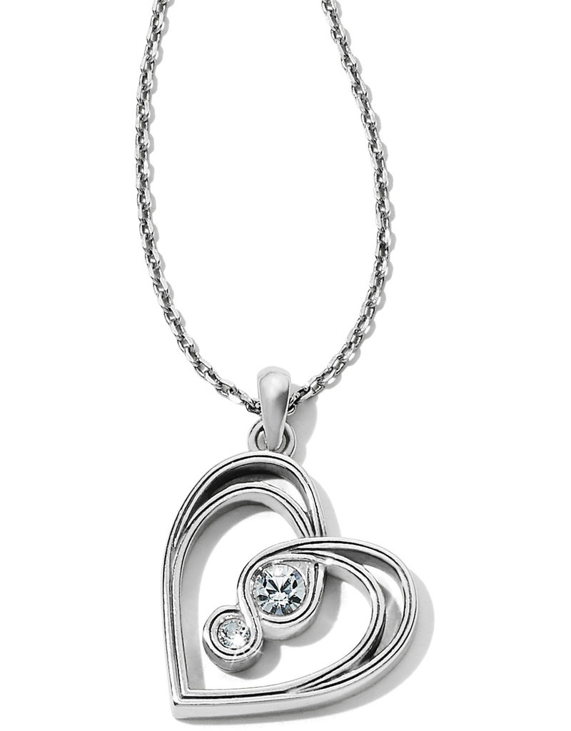 Brighton Brighton Necklace Infinity Sparkle Petite Heart