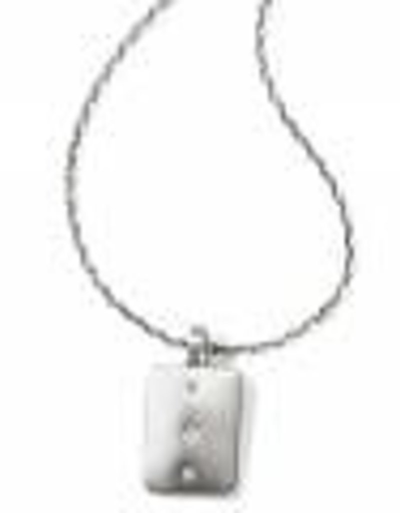 Brighton Brighton Contempo Ice Reversible Petite Tile Necklace
