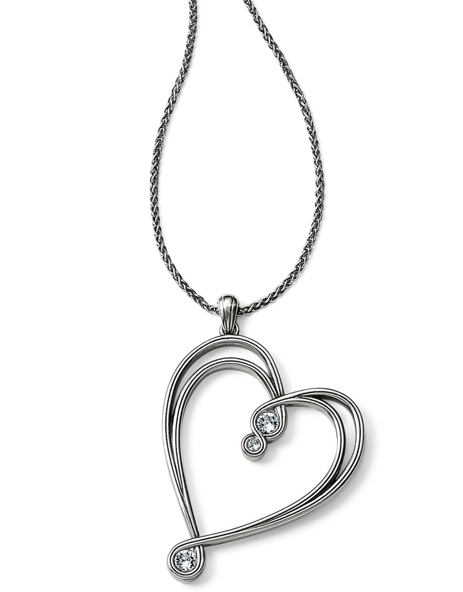 Brighton Brighton Necklace Infinity Sparkle Heart