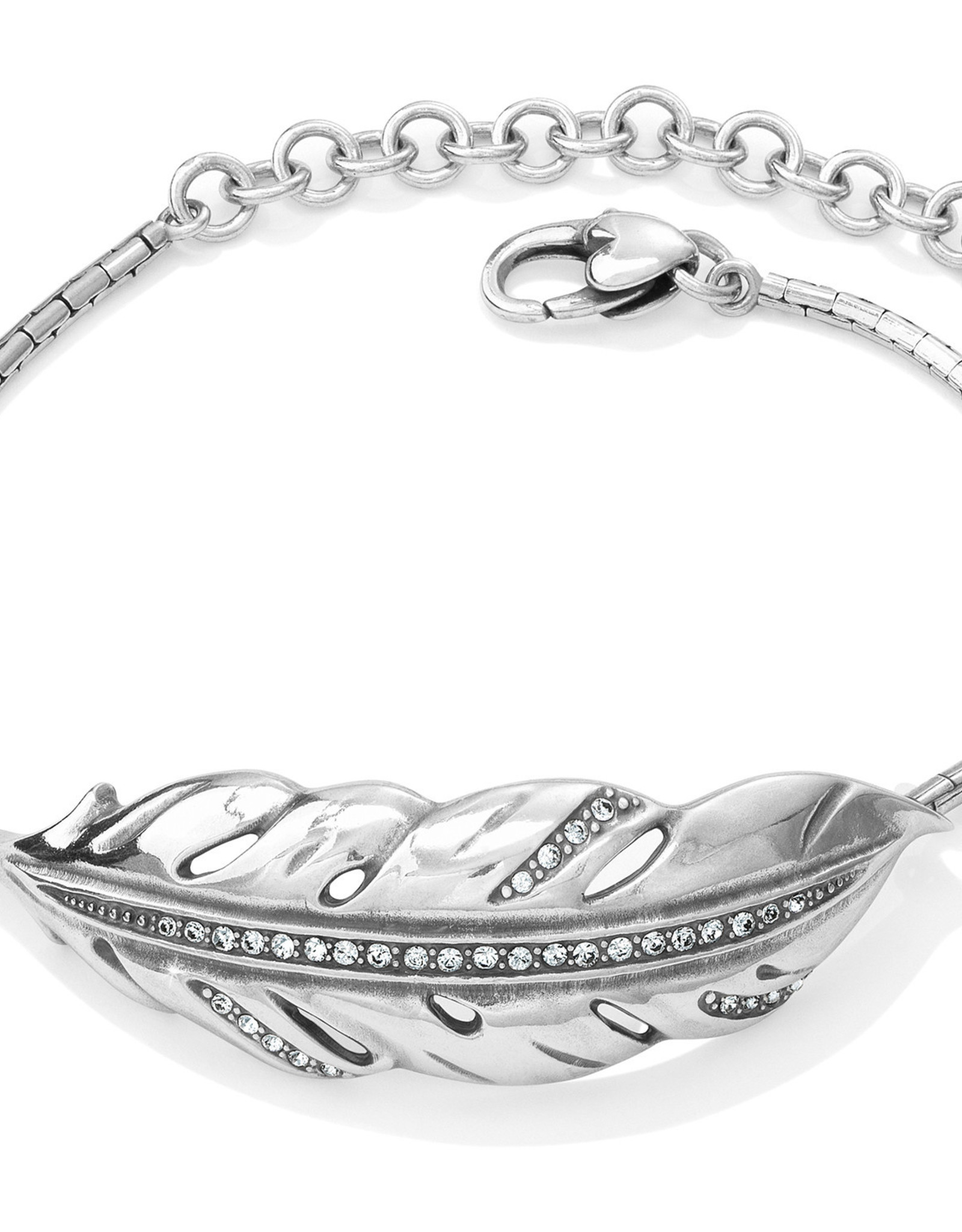 Brighton Brighton Bracelet Contempo Ice Feather
