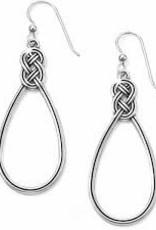 Brighton Brighton Interlok French Wire Earrings-Silver