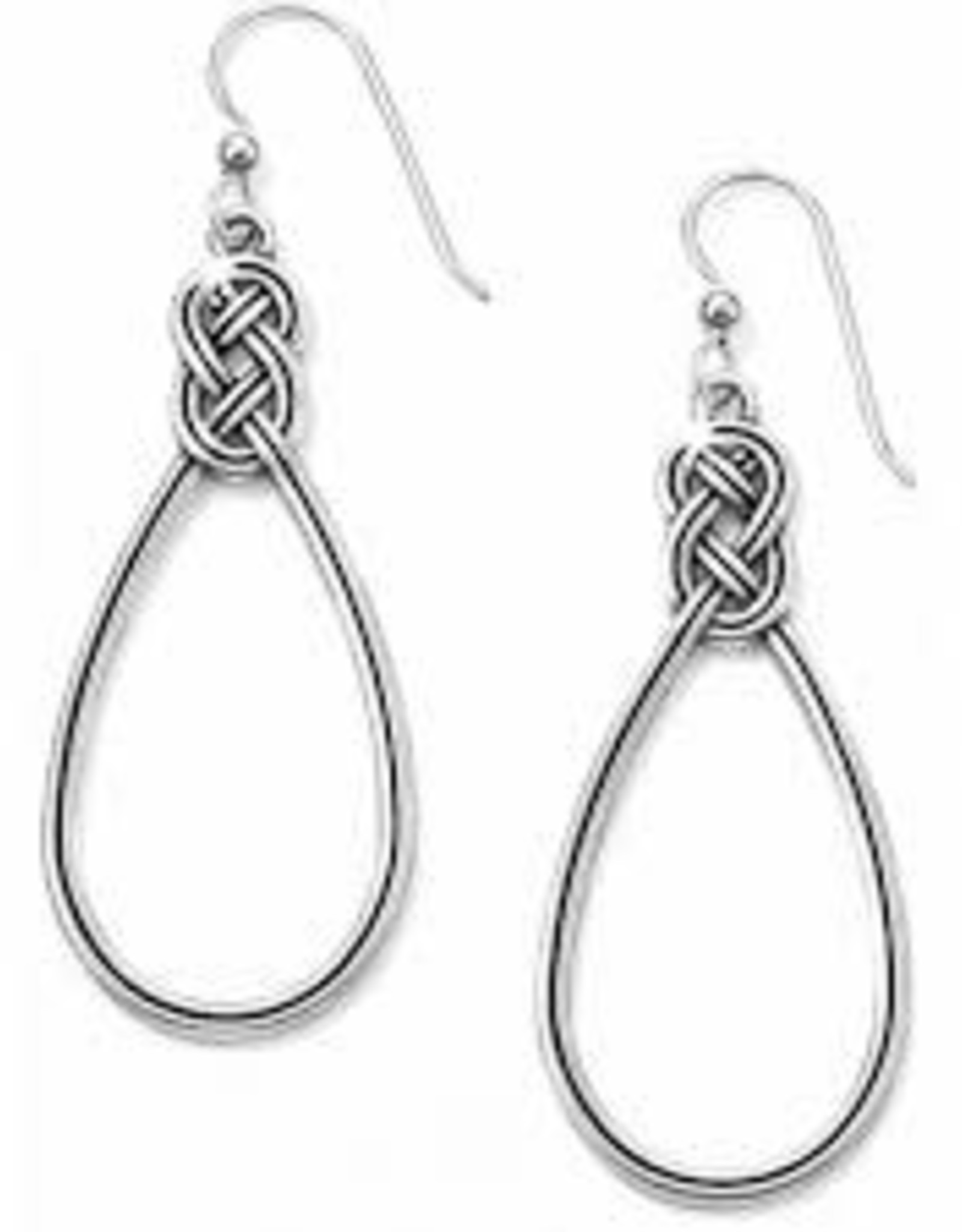 Brighton Brighton Earrings  Interlok French Wire -Silver