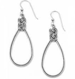 Brighton Brighton Interlok French Wire Earrings-Silver