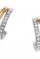 Brighton Brighton Neptune's Rings Post Earrings-Silver/Gold