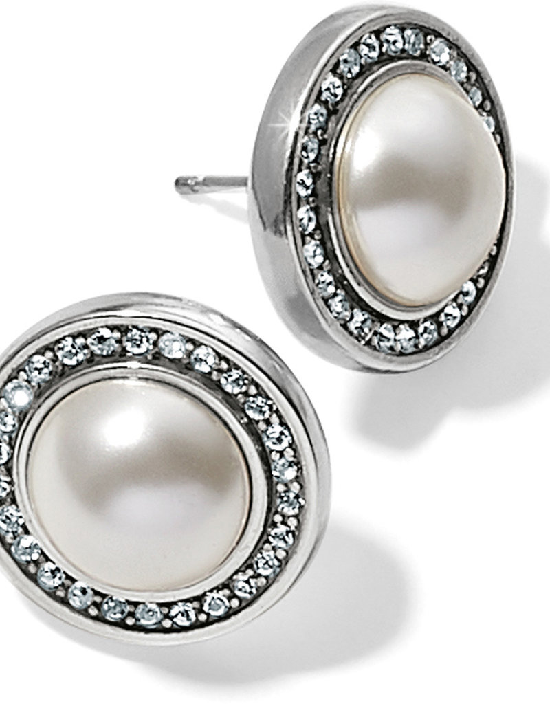 Brighton Brighton Earrings Chara Ellipse Pearl Post
