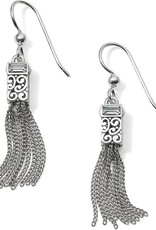 Brighton Brighton Earrings Baroness Tassel French Wire Silver