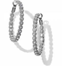 Brighton Brighton Earrings Twinkle Splendor Medium Hoop
