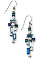 Brighton Brighton Earrings Blue Showers French Wire