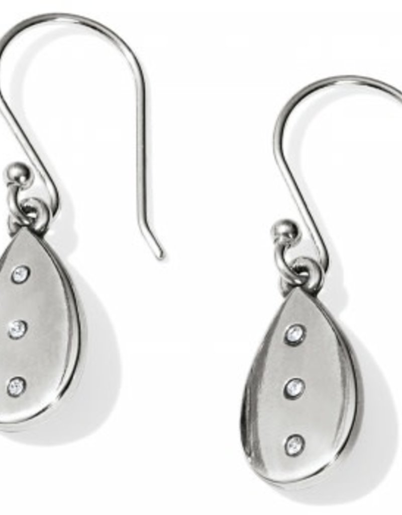 Brighton Brighton Contempo Ice Reversible Teardrop French Wire Earrings