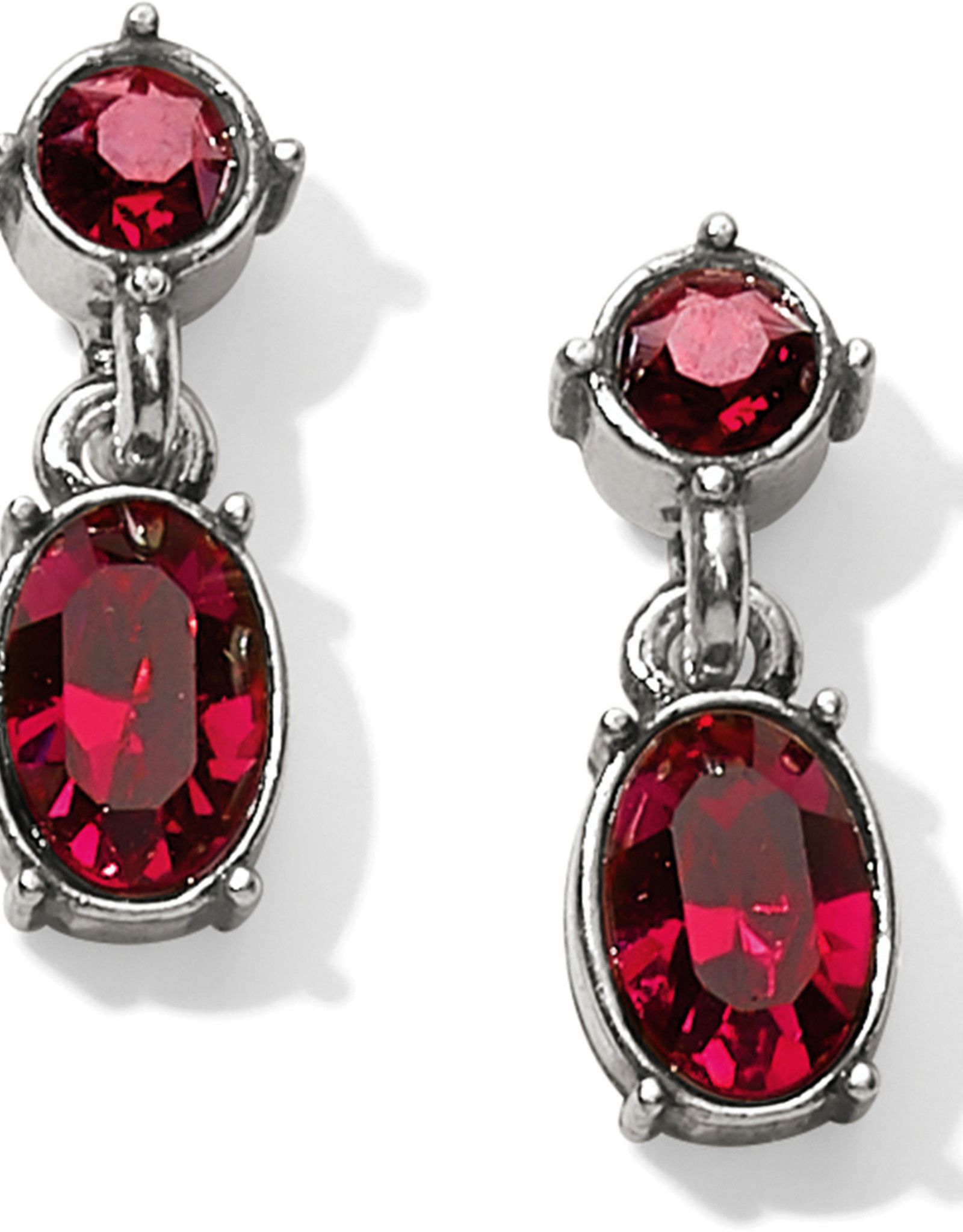 Brighton Brighton Earrings One Love Petite Ruby Drop