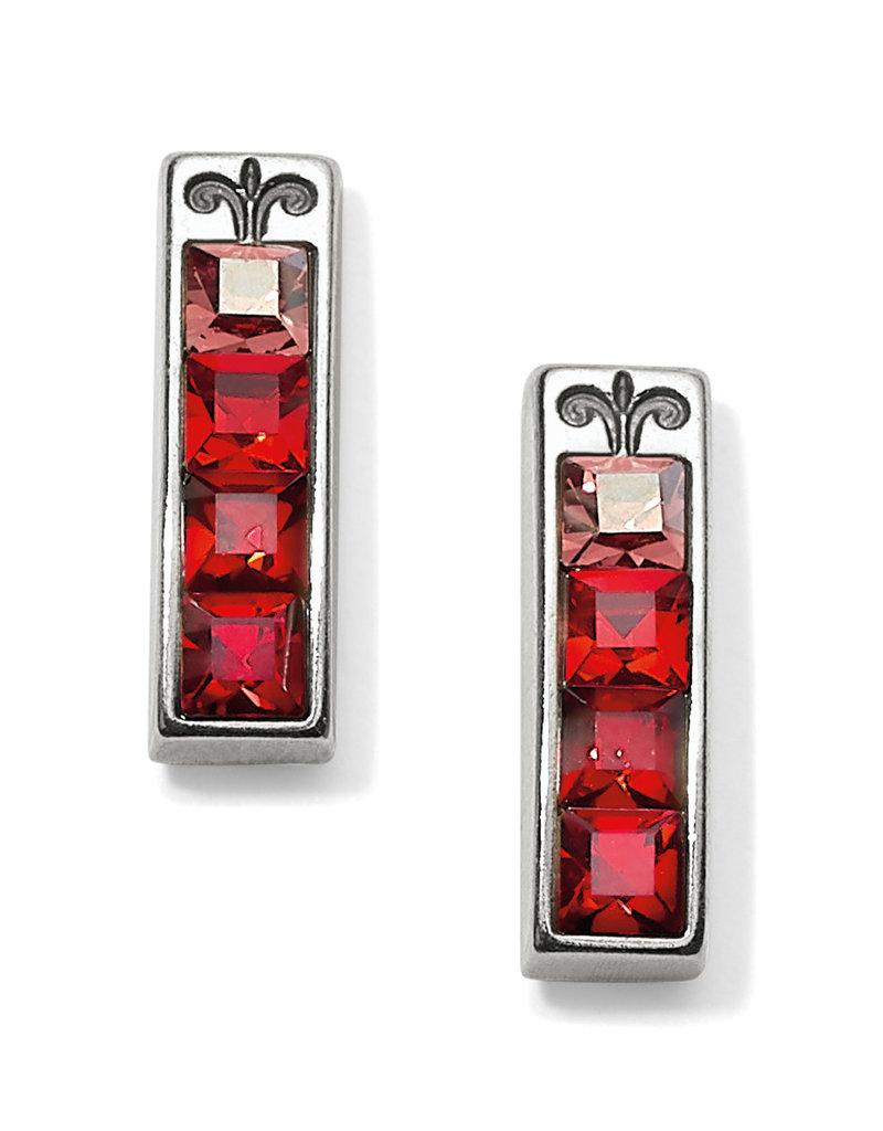 Brighton Brighton Earrings Spectrum Post-Red