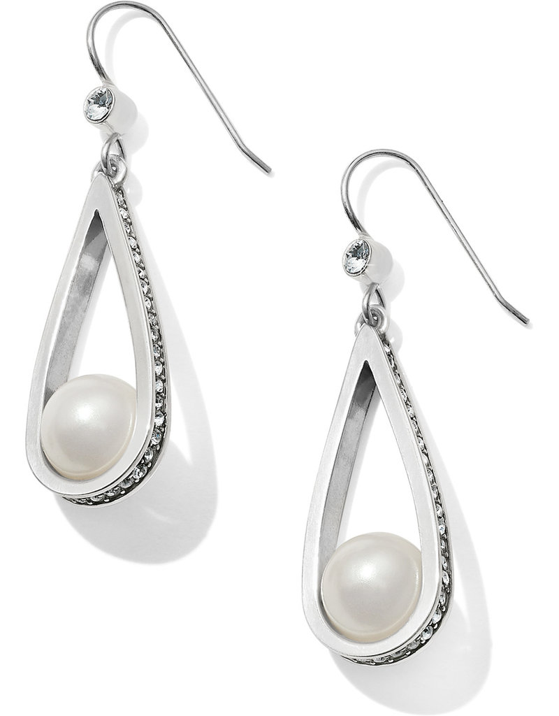 Brighton Brighton Earrings Chara Ellipse Pearl French Wire