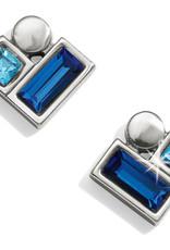 Brighton Brighton Earrings Blue Showers Stud