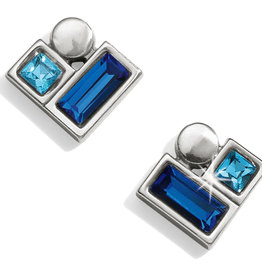 Brighton Brighton Earrings Blue Showers Stud