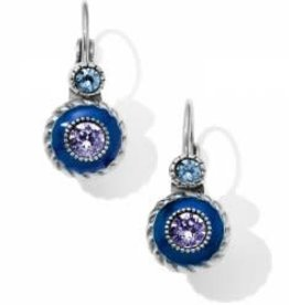 Brighton Brighton Halo Eclipse Leverback Earrings