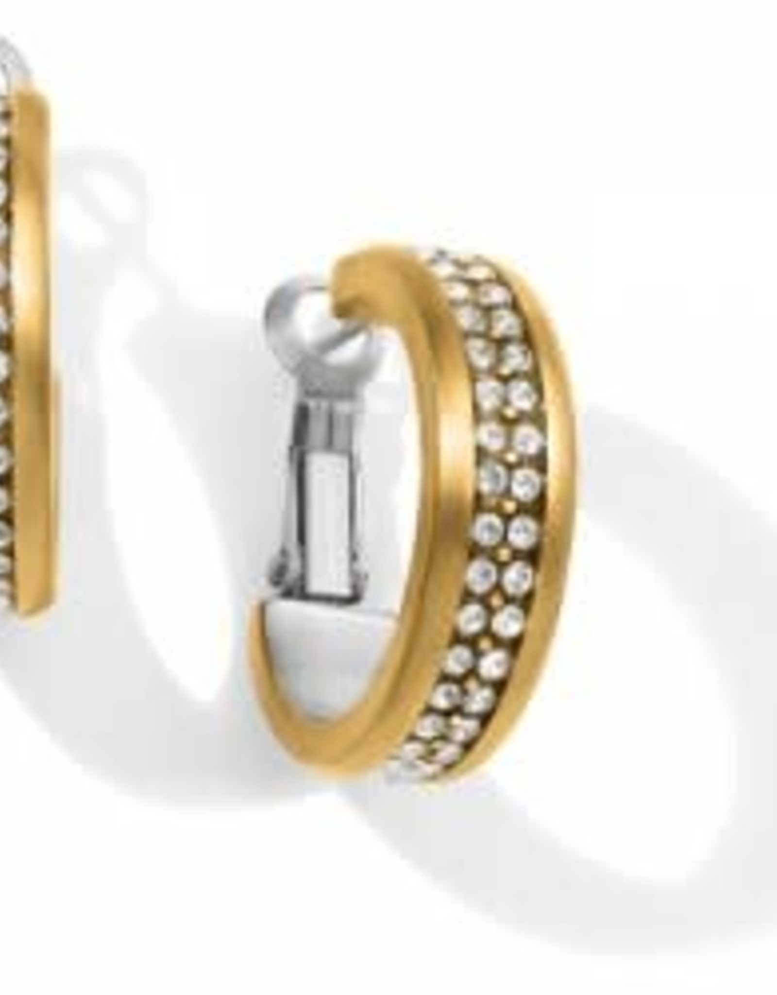 Brighton Brighton Meridian Two Tone Hoop Earrings