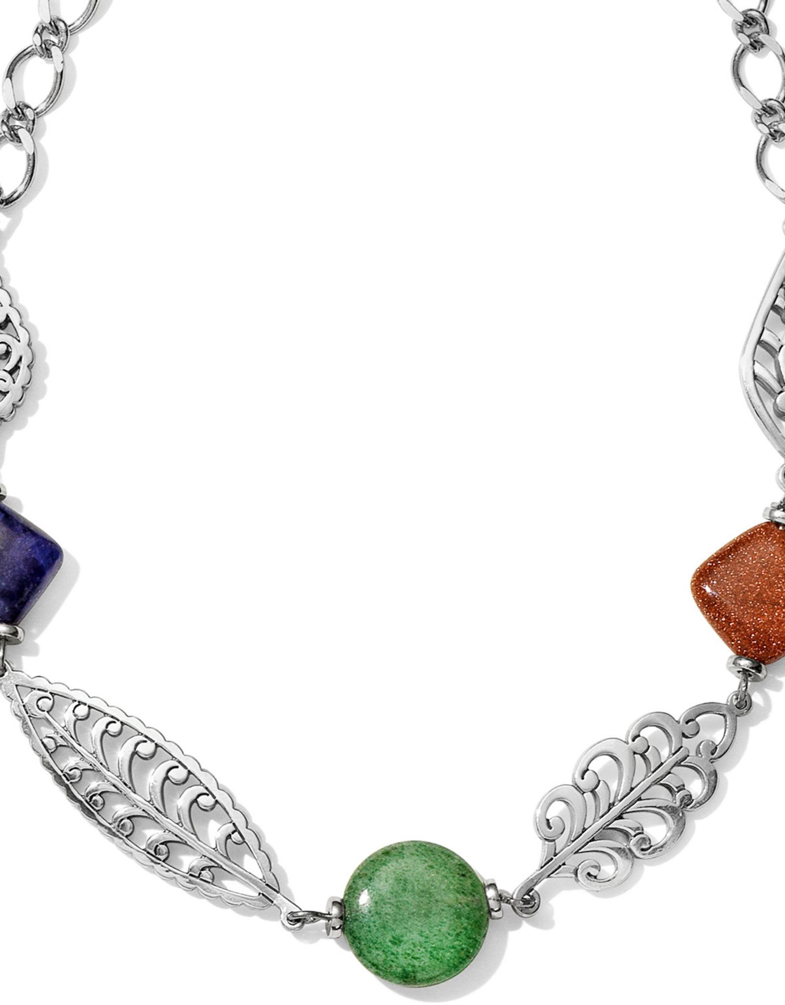 Brighton Brighton Necklace Barbados Leaves Stone Short