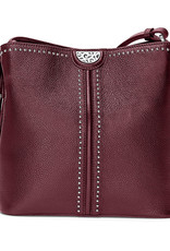 Brighton Brighton Handbag Robbie Cross Body Bucket- Sangria