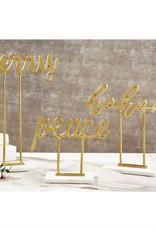 MudPie MudPie Gold/Marble Sitter