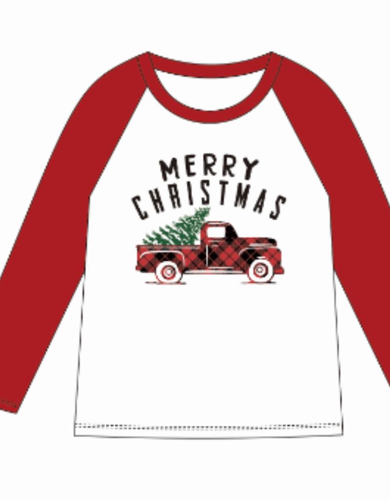 Jane Marie Jane Marie Kids Merry Christmas  Tshirt