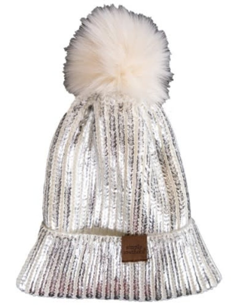 Simply Southern Simply Southern Metallic Beanie