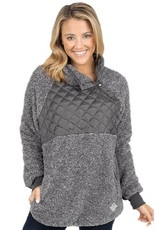 Simply Southern Simply Southern Quilted Patch Pullover