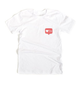 Project 615 Project 615 Tshirt- Pocket Social TN Heart