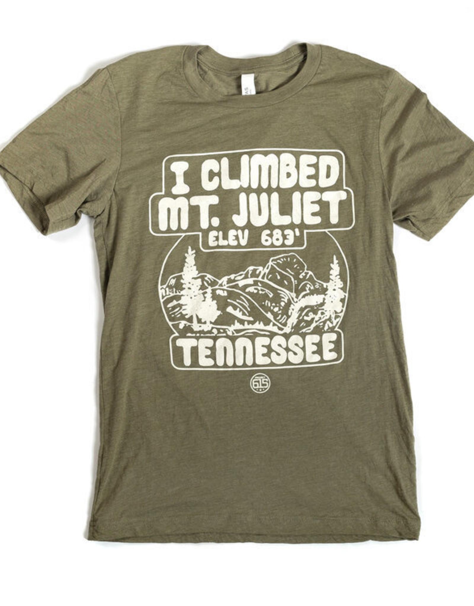 Project 615 Project 615 Tshirt- I Climbed Mt Juliet