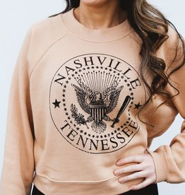 Nash Collection The Nash Collection Sweatshirt- Cropped Seal