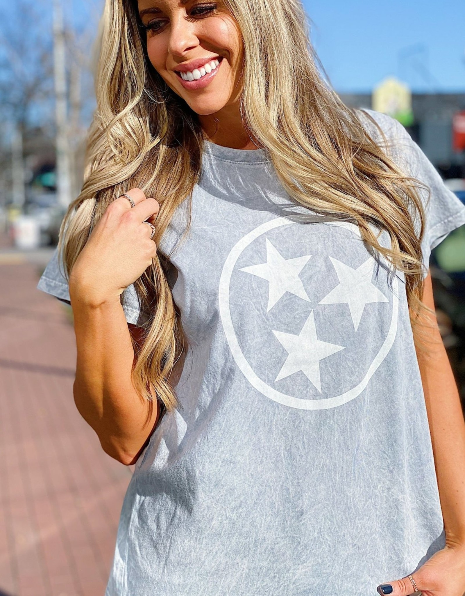 Nash Collection The Nash Collection TShirt- Tristar Acid Wash