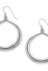 Brighton Brighton Earrings Interlock Circle French Wire