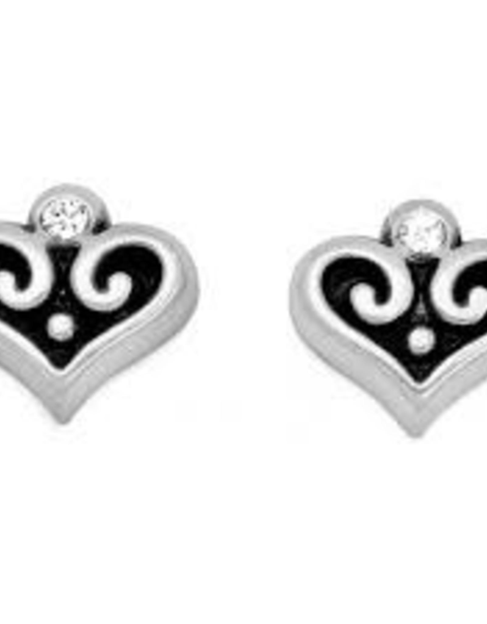 Brighton Brighton Alcazar Heart Mini Post Earrings