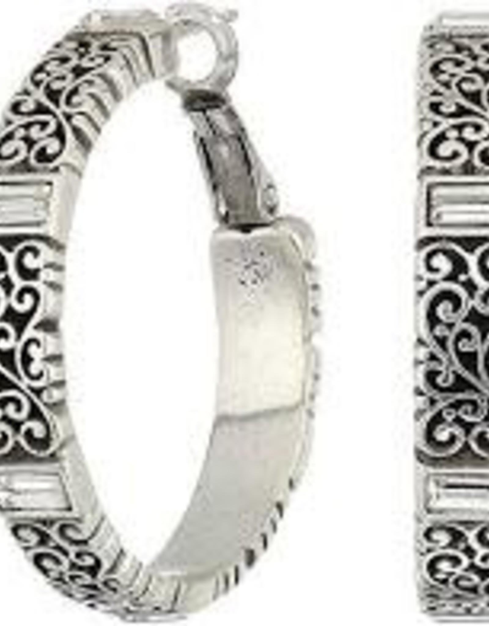Brighton Brighton Baroness Leverback Hoop Earrings Silver